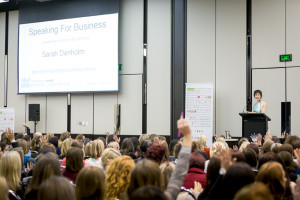 Sarah Denholm public speaking presentation skills