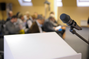 Should you move around when presenting?