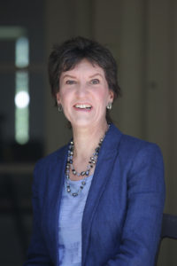 Sarah Denholm public speaking and presentation skills coach smiling headshot